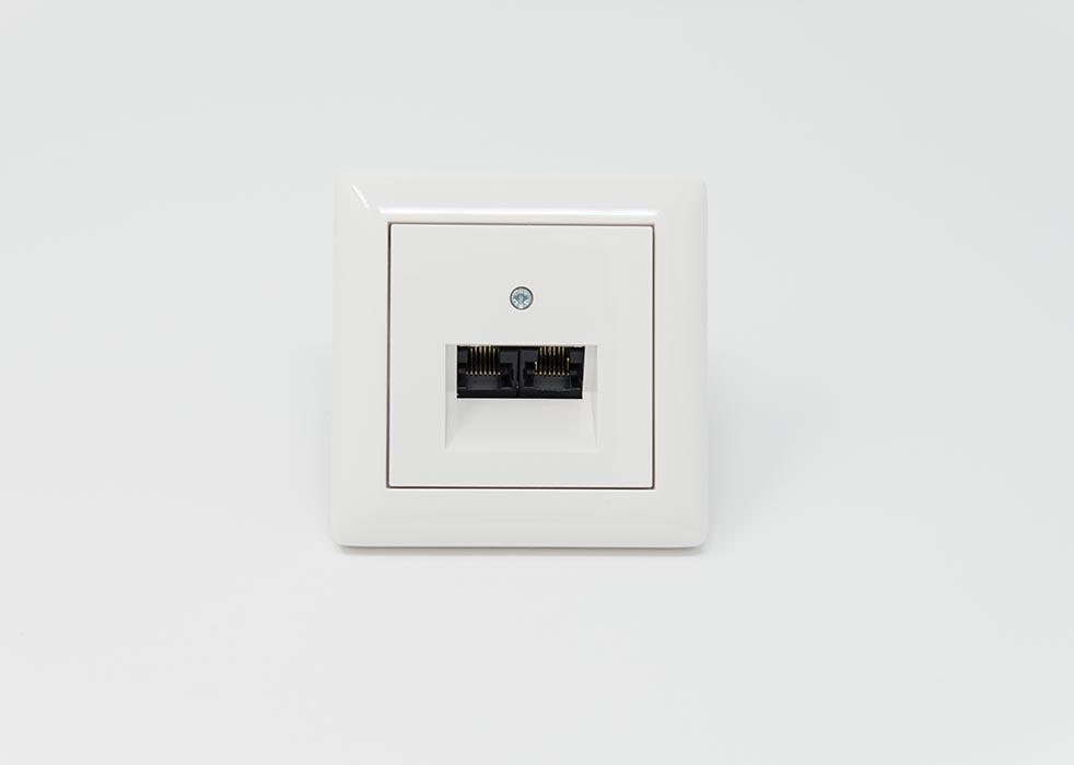 Systemanschlussdose für Lichtrufanlage