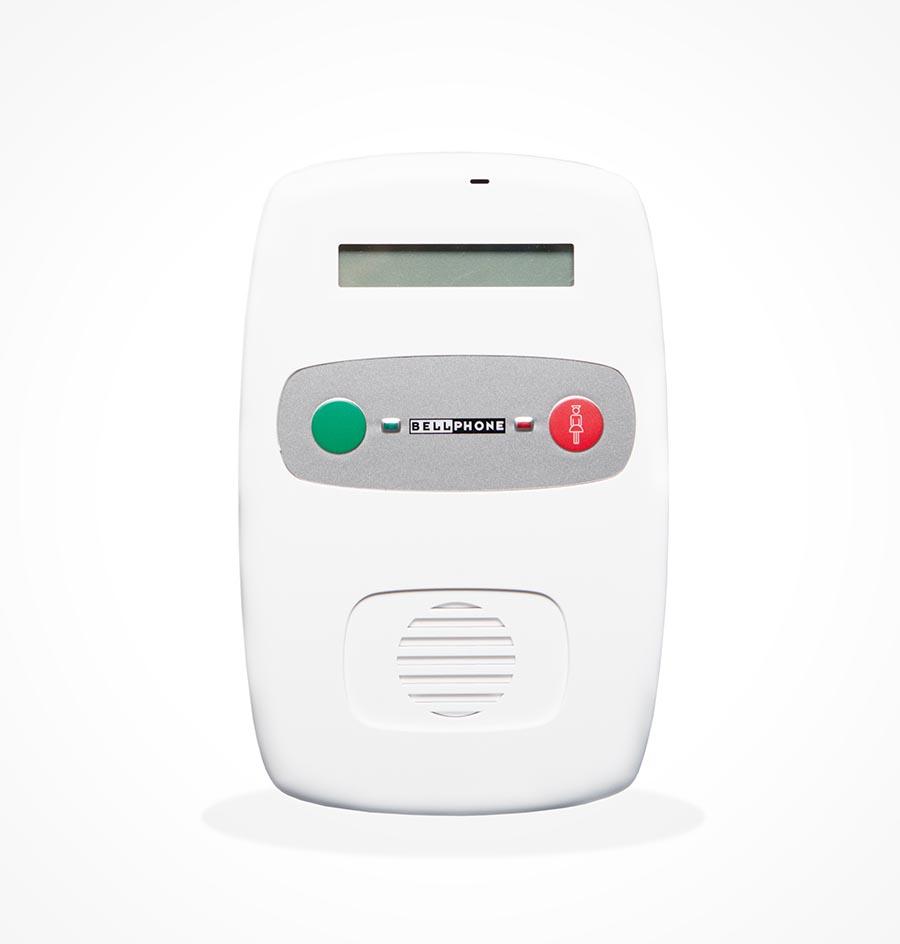 Notrufterminal für Lichtrufanlage